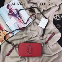 Marc Jacobs-001-13 宋佳趙麗穎同款Snapshot撞色復古金屬雙J扣D扣全新電鍍Logo相機包