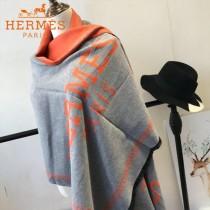 HERMES特價圍巾-0112-4 新款專櫃同步羊絨兩面用圍巾披肩