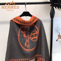 HERMES特價圍巾-0111-2 愛馬仕新款專櫃同步羊絨款雙面用圍巾披肩