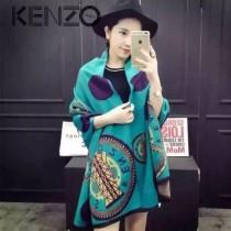 KENZO特價圍巾-1 鐵塔羊絨圍巾披肩