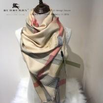 Burberry特價圍巾-01-2 巴寶莉新款來襲秋冬保暖絲滑面料刺繡LOGO長款圍巾