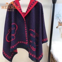HERMES特價圍巾-0111-3 愛馬仕新款專櫃同步羊絨款雙面用圍巾披肩