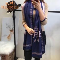 HERMES特價圍巾-0112-2 新款專櫃同步羊絨兩面用圍巾披肩