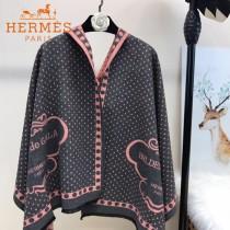 HERMES特價圍巾-0111-4 愛馬仕新款專櫃同步羊絨款雙面用圍巾披肩