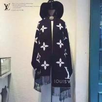 LV特價圍巾-1-2 迪麗熱巴同款頂級版經典logo花紋圖案雙面用百搭圍巾披肩