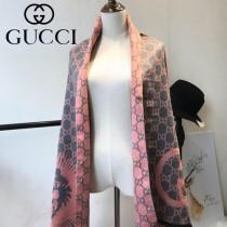 GUCCI特價圍巾-09 古馳專櫃同步保暖羊絨款雙面用圍巾披肩