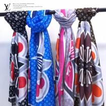 LV特價圍巾-110 秋冬新款經典花紋絲巾