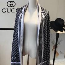 GUCCI特價圍巾-08 古馳專櫃同步保暖羊絨款雙面用圍巾披肩