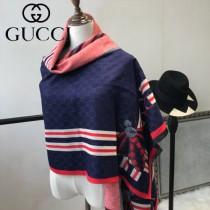GUCCI特價圍巾-07-3 古馳蜜蜂系列羊絨款雙面用圍巾披肩