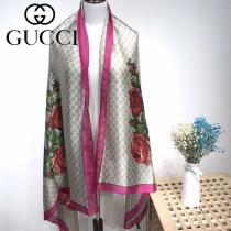 GUCCI特價圍巾-05 古馳春秋新款雙G提花系列長款圍巾絲巾