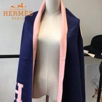 HERMES特價圍巾-1-5 愛馬仕新款專櫃同步羊絨款兩面用款圍巾披肩