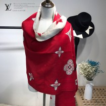 LV特價圍巾-115-3 supreme七彩編織新款專櫃同步羊絨雙面兩用款圍巾披肩