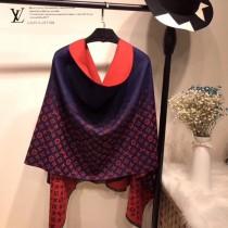 LV特價圍巾-119-2 兩面用最新款羊絨款圍巾披肩
