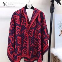 LV特價圍巾-120-4 兩面用最新款羊絨款圍巾披肩