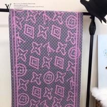 LV特價圍巾-120-3 兩面用最新款羊絨款圍巾披肩