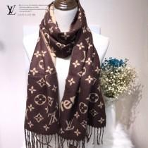LV特價圍巾-116-3 supreme特別合作系列時尚窄版水貂絨面料兩面用圍巾