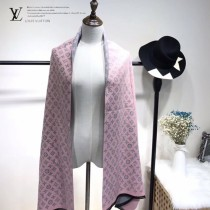 LV特價圍巾-119 兩面用最新款羊絨款圍巾披肩