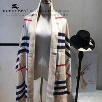 Burberry特價圍巾-004-5 最新款專櫃同步羊絨款雙面兩用圍巾披肩