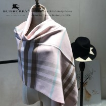 Burberry特價圍巾-004 最新款專櫃同步羊絨款雙面兩用圍巾披肩
