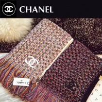 CHANEL特價圍巾-001-2 秋冬新款羊毛混紡質地溫暖洋氣雙面可用圍巾披肩