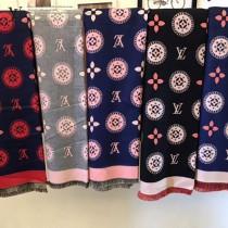 LV特價圍巾-00001-2 新款專櫃同步當紅款羊絨款雙面兩用圍巾披肩