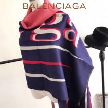 Balenociaga特價圍巾-0001-2 當紅加厚新款專櫃同步雙面兩用羊絨款圍巾披肩