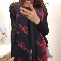 balenociaga特價圍巾-0002-2 秋冬新款水貂絨溫暖洋氣雙面可用質地大披肩