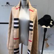 Burberry特價圍巾-004-6 最新款專櫃同步羊絨款雙面兩用圍巾披肩