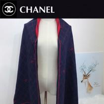 CHANEL特價圍巾-003 新款專櫃同步當紅款雙面兩用款圍巾披肩