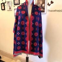 LV特價圍巾-00001-3 新款專櫃同步當紅款羊絨款雙面兩用圍巾披肩