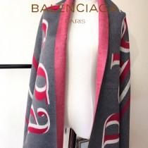 Balenociaga特價圍巾-0001 當紅加厚新款專櫃同步雙面兩用羊絨款圍巾披肩