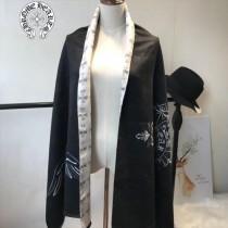 Chrome Hearts特價圍巾-001 新款羊絨兩面用圍巾披肩