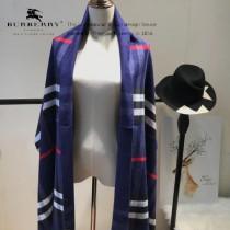 Burberry特價圍巾-004-4 最新款專櫃同步羊絨款雙面兩用圍巾披肩