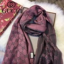 GUCCI圍巾-01-3 古馳經典款大LOGO提花進口澳洲羊毛長款圍巾