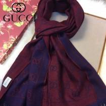 GUCCI圍巾-01-5 古馳經典款大LOGO提花進口澳洲羊毛長款圍巾