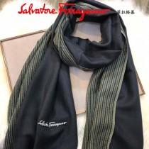 Ferragamo圍巾-01-3 經典英倫風男女通用頂級羊羔絨長款圍巾