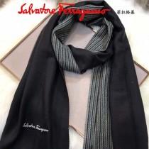 Ferragamo圍巾-01 經典英倫風男女通用頂級羊羔絨長款圍巾