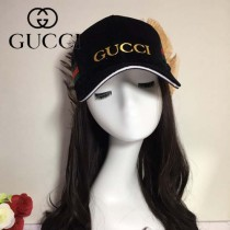 GUCCI帽子-6-3 古馳最新款高檔絨料時尚大方爆款棒球帽