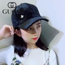 GUCCI帽子-8-3 秋冬最新款透氣性超好純手工製作金屬小蜜蜂高檔面料精緻棒球帽