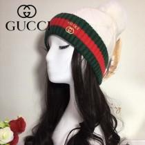 GUCCI帽子-2 古馳2017秋冬最新款100羊毛狐狸毛球氣質毛線帽