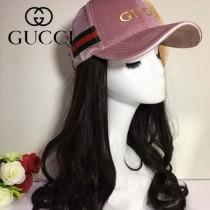 GUCCI帽子-6-2 古馳最新款高檔絨料時尚大方爆款棒球帽