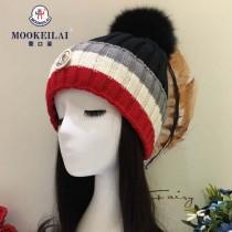 MONCLER帽子-2-2 2017年秋冬新款百搭混色柔軟帽子