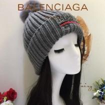 balenociaga帽子-1 巴黎世家最新款刺繡高端大氣百搭單帽毛線帽