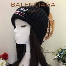 balenociaga帽子-1-3 巴黎世家最新款刺繡高端大氣百搭單帽毛線帽