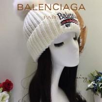 balenociaga帽子-1-2 巴黎世家最新款刺繡高端大氣百搭單帽毛線帽
