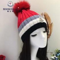MONCLER帽子-2-3 2017年秋冬新款百搭混色柔軟帽子