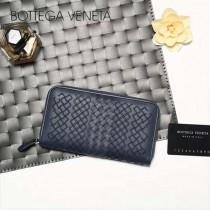BV-V85318-2 經典款手工編織刺繡圖案拉鏈款胎牛皮手包
