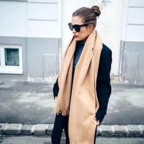 GUCCI圍巾-012-5 古馳新款原單蜜蜂刺繡克什米爾山羊絨長款圍巾披肩