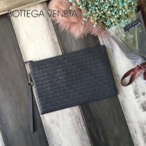 BV-B85343-4 意大利原單胎牛皮編織手包薄款信封包