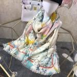 VALENTINO圍巾-02 華倫天奴秋冬保暖新款原單絲羊絨長款圍巾